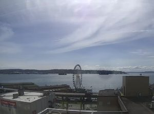 Seattle Waterfront Webcam 04 18 2018