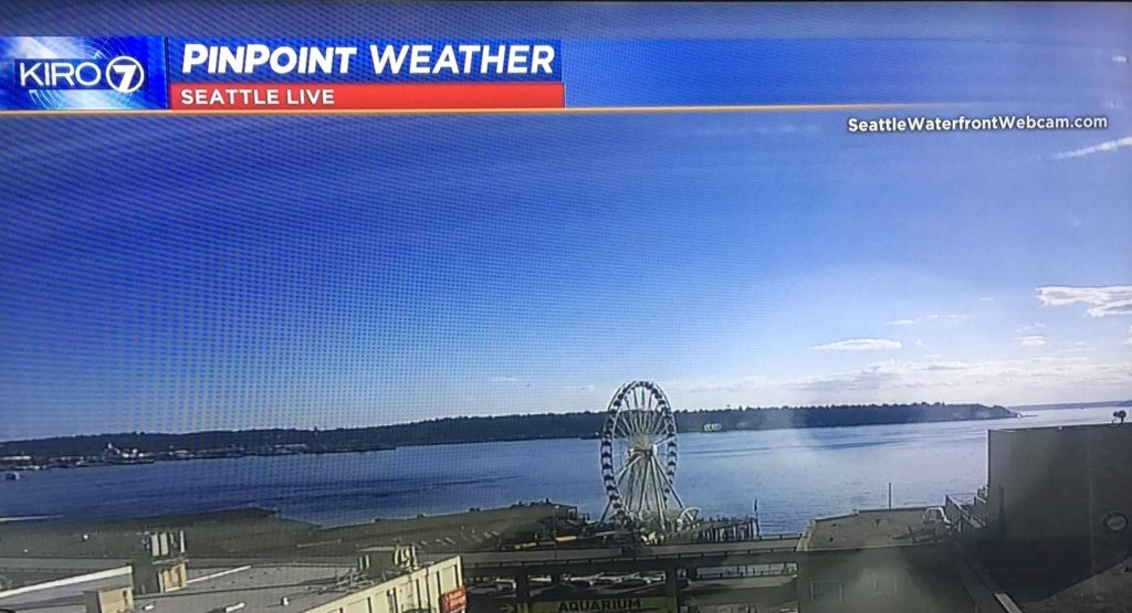 Seattle Waterfront Webcam KIRO7 07 20 2018